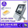 Prezzo basso e di alta qualità 100w luce di inondazione& 10-200w 100 watt luci di inondazione illuminazione a led