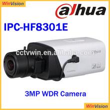 "DH IPC-HF8301E In Big Stock Wholesale Dahua HD IP Camera 1/3"" 3 Megapixel CMOS Sensor IP66 RJ-45 Support 2UB2.0 Ports"