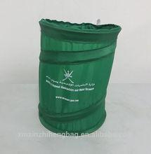XZH 210D polyester Elastic trash bag for cars in Xiamen Alibaba