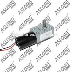 gear motor dc 12v high torque pwm electric 12v 150rpm worm drive gear motor
