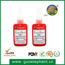 guoelephant 242 Thread sealant Single-component glue threadlocker Silicone Rubber Adhesive Sealant