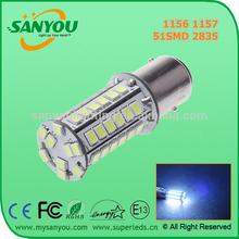12V 24V 1156 1157 51SMD 2835 canbus led third brake light