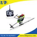 Venda quente 2.4g lâmina única 6ch helicóptero do rc com giroscópio