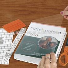 Transparent pvc vinyl self adhesive transparent book cover