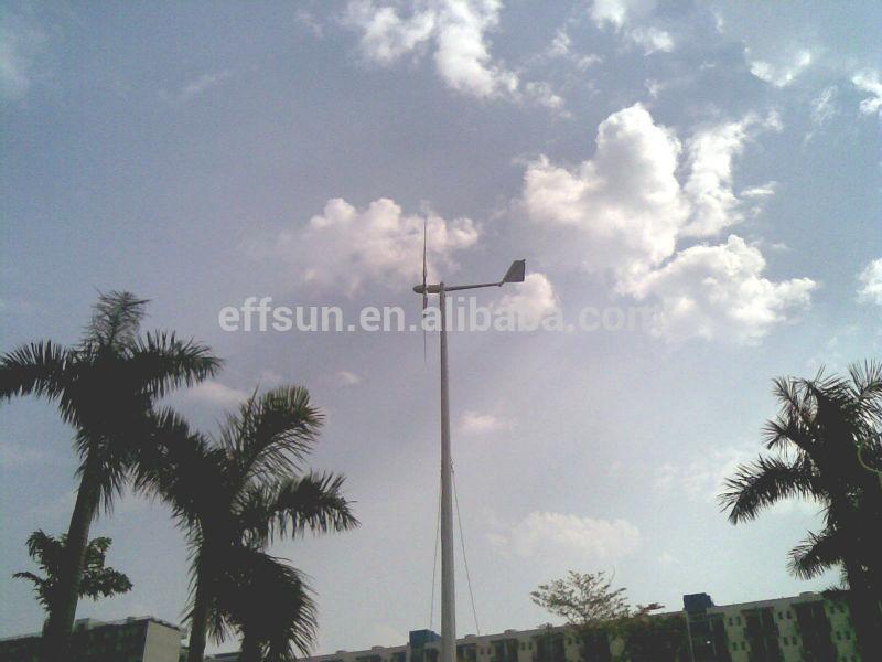 High efficiency 600w wind turbine AC wind alternator
