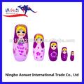 Bonecas infláveis de silicone de madeira empilhamento russo coleção de bonecas bonecas de porcelana