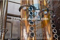 50L 100L 200L USA hot sales alcohol red copper distiller column without boiler