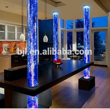 Acrylique aquarium colonne en plastique pour la d coration - Columnas decoracion interiores ...