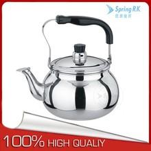 Bakelite handle 201 stainless steel unique tea kettles