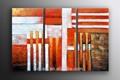 2014 abstrato moderno pintura a óleo decorativa da parede