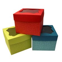 Durable unique food packaging boxes cardboard window