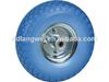 flat free tire 4.00-8 wheel barrow wheel garden trolley hand trailer carts
