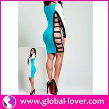 Fashion new style hot sale dress design women fashion clothes 2014