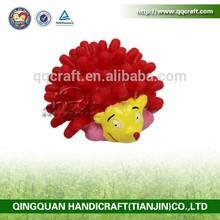 liwen dog rubber ring dog toy & pet toy: rubber hedgehog & natural rubber dog toy