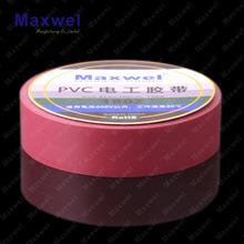 Jumbo rolo pvc tape / pvc fita isolante jumbo rolo / pvc isolamento elétrico fita