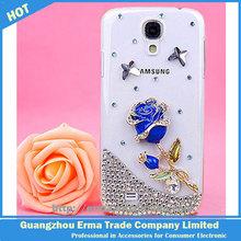Handmade Rose Flower Diamond Mobile Phone S5 Case