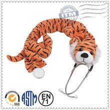 2014 China animal plush toy top 10 Sales promotion plush stethoscope cover