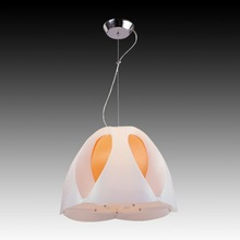 Charmful Plastic Tulip Flower Shade OP-9013 Modern Pendant Light