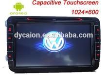 Touch screen car radio gps for vw golf 6 tiguan