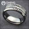 Flamboyant China Wholesale Stainless Steel Ring African Crystal Beads
