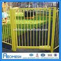 Bon marché de gros décoratifs en aluminium treillis de jardin/jardin clôture pliage/paddock de clôture cheval
