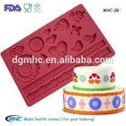 button silicone mat,button cake decoration, button mold