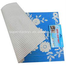 PVC ground mat/anti slip household carpet