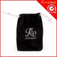 Wholesale Promotional Black velvet Camera Bag