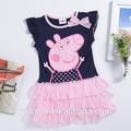 popular doce roupa da menina vestido da menina bonita