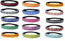 Wholesale Alibaba Various Color Leather Softball Seam Stitch Headbands
