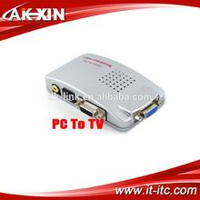 VGA to AV Video Converter - Use TV As A Computer Monitor
