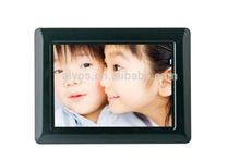 Plastic Frame Material 7 inch digital sex photo frame