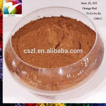 Orange Inclusion pigment for ceramic color with competitive price