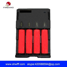 Intelligent 18650 18350 charger for 4 slot 18650 battery charger