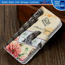Hot Sell Leather Cover For iPhone 5, Case For iPhone 5S
