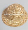 Mini-nave sombreros de paja para renacer/bjd muñecas