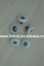 Plastic Roller Wheel Bearing Window Plastic Wheel Roller/pulley for glass door