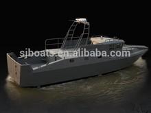 Sanj 1270 High-Speed aluminium Rettung Patrouille boat for sale
