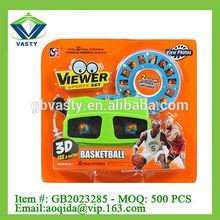 Basketball set 3D image viewer