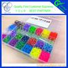 2015 Alibaba new fashion colorful silicone loom bands diy 4200