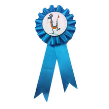 la venta de la fábrica tipo de dibujos animados celebración premio roseta de cinta