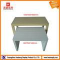 wood clothes table clothing display furniture for clothes shop interior design