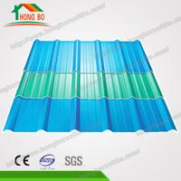 Superior Quality 4-Layers Apvc Plastic Shingle Roof