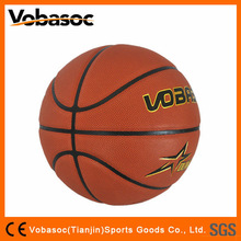 Size 7 Cheap PU Laminated Basketball Ball/PU Basketball
