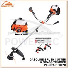 POWERTEC 43CC 1.4KW Hot Sale Gas Brush Cutter 4300 Gasoline Grass Trimmer