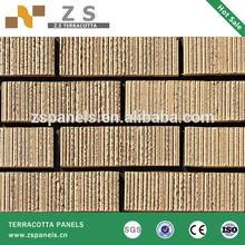 Exterior Wall Brick Tiles Porcelain Cheap Price Terracotta Cladding Tile
