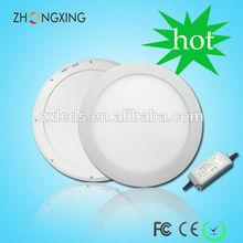 15W round led panel light diameter 240mm