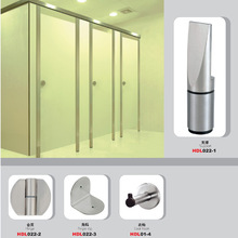Stainless steel customized toilet cubicle size partition door
