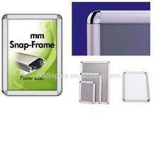 Promotion Aluminum Snap Frame,Poster Frame, picture photo frame