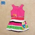 ( h4438) 2014 mais recentes modelos de vestido para as crianças hot vender doces meninas vestido no verão